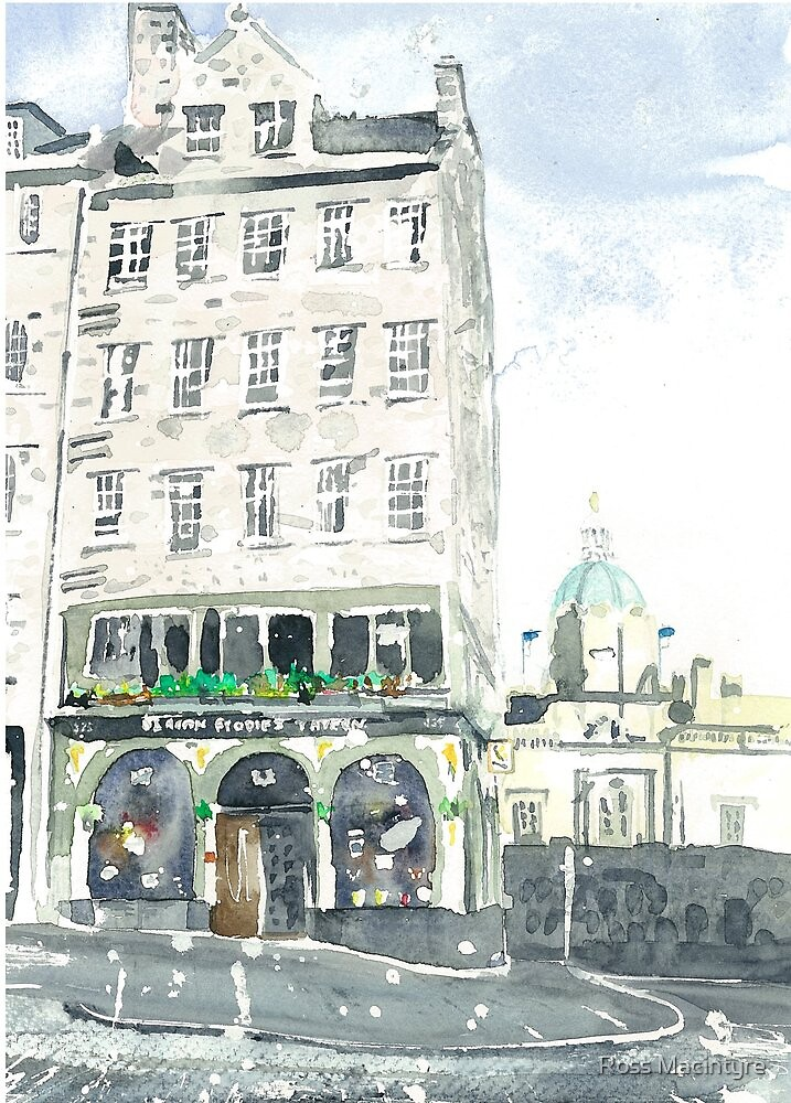 Deacon Brodie's Tavern by Ross Macintyre