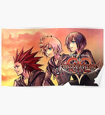 KINGDOM HEARTS | 358/2 DAYS ! POSTER · the ice-cream trio Poster