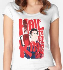 Army Of Darkness/Bruce Campbell Women's Fitted Scoop T-Shirt