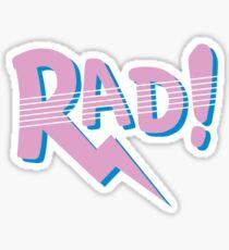 RAD! (80s Edition) Sticker