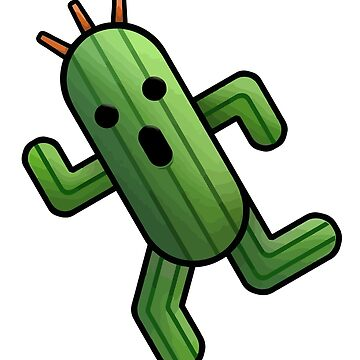 Cactuar by NeverGiveUp
