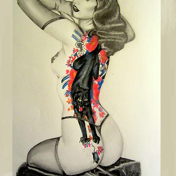 Tattooed Bettie  by AmyTherese