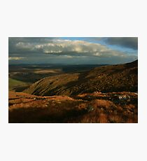 The Way Down From Croaghconnellagh Photographic Print