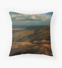 The Way Down From Croaghconnellagh Throw Pillow