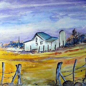 An old farmhouse by Happyart