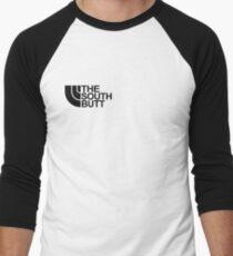 The south butt Men's Baseball ¾ T-Shirt