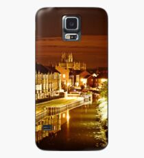 beverley minster at night Case/Skin for Samsung Galaxy