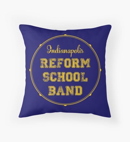 Reform School Band - Indianapolis Throw Pillow