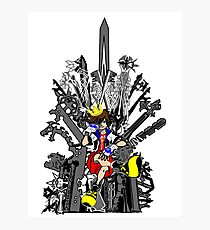 Kingdom Hearts: Game of Hearts Color Photographic Print