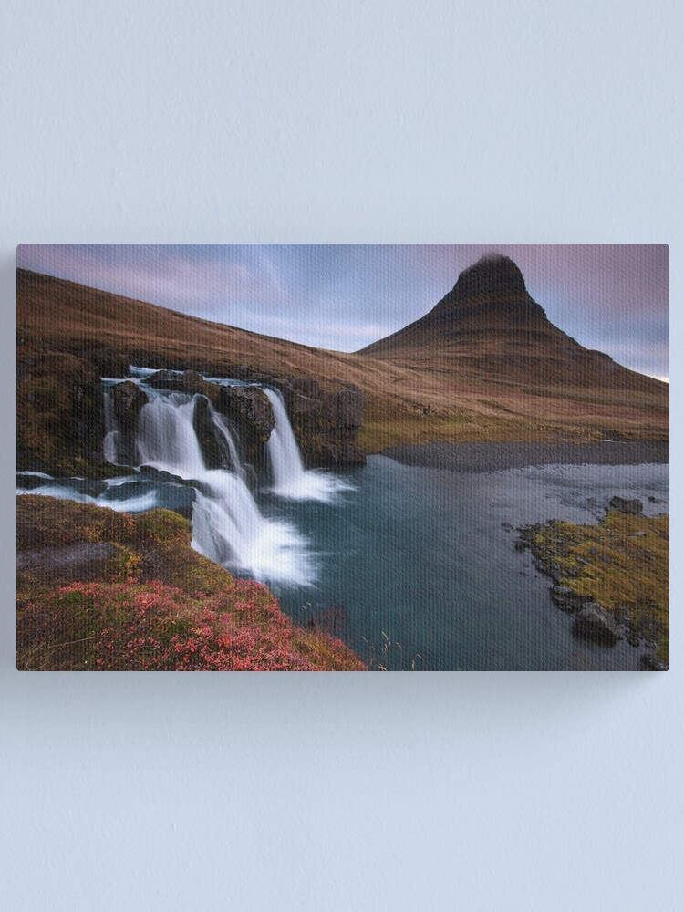 Alternate view of Dawn in West Iceland Canvas Print