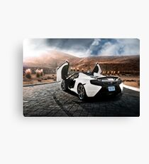 McLaren MP4-12C Spider Canvas Print