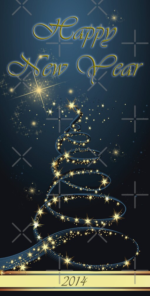 Happy New Year 2014 by EbyArts