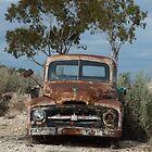 Old International pick-up truck - Lightning Ridge, NSW by DashTravels