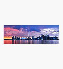 Toronto skyline panorama Photographic Print