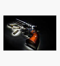 .357 Pistol Photographic Print