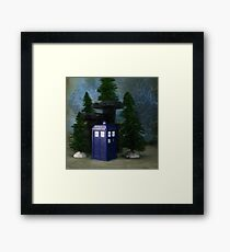Time in the Wood Framed Print