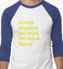 Camiseta ¾ bicolor para hombre Pantera-vetica