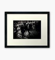 Hollywood Star Framed Print
