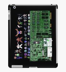 Commodore 64 Inside with Characters iPad Case/Skin