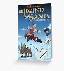 Legend of Santa Greeting Card