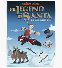 Legend of Santa Poster
