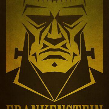 Frankenstein Print by CoryFreeman