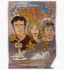 Geek Night: III Once More, With Fillion Poster