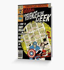Geek Night: II Revenge Of The Geek Greeting Card