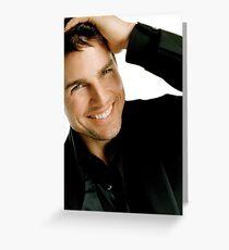 Tom Cruise Greeting Card