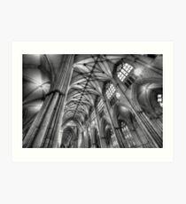 York Minster Interior Art Print