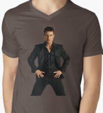 Camiseta de cuello en V Tom Cruise