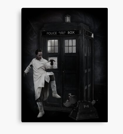 Dr Whoibble Canvas Print