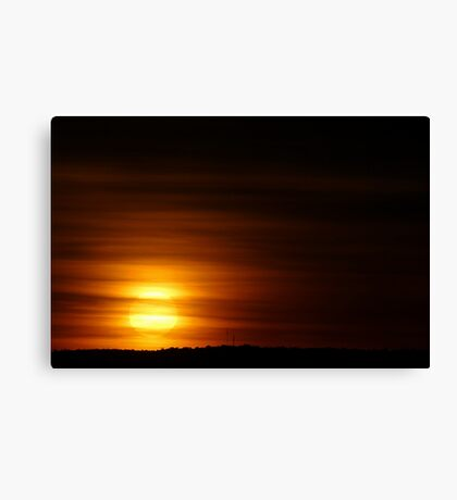 Summer Sunrise  Canvas Print
