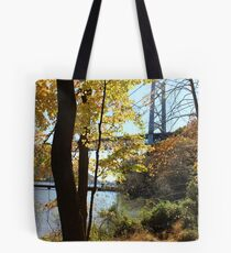 Yellow woods Tote Bag