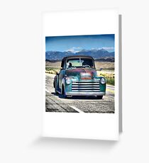 1953 Chevy Pick Up Greeting Card