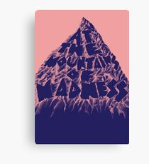 At the Mountains of Madness Canvas Print