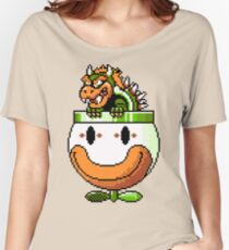 Bowser and Clown Copter Women's Relaxed Fit T-Shirt