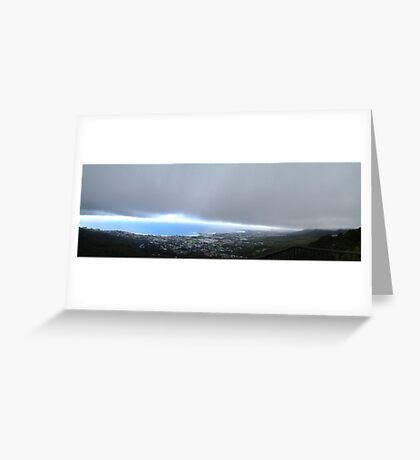 Storm over the Illawarra Greeting Card