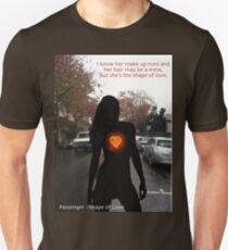 Passenger- Shape of Love Unisex T-Shirt