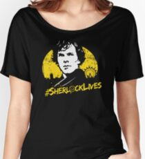 #SherlockLives Women's Relaxed Fit T-Shirt