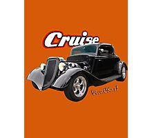 Black 34 Ford Coupe Cruise T-Shirt and More! Photographic Print