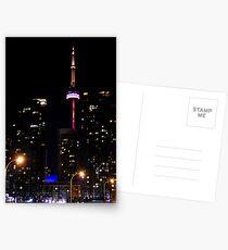 Christmas in Toronto Postcards