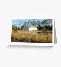 High Tide in the Marsh Greeting Card