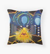 The Illuminated Ones Throw Pillow