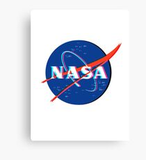 NASA Logo 3D Canvas Print