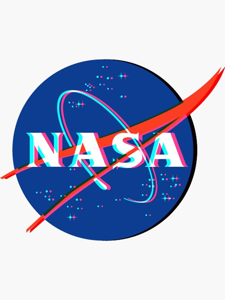 NASA Logo 3D von katieroon