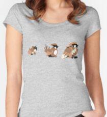 Bird Evolution Women's Fitted Scoop T-Shirt