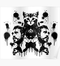Bastille Kyle Inkblot Poster