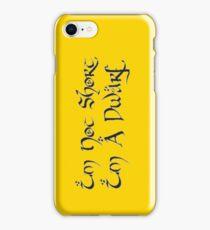 I'm A Dwarf iPhone Case/Skin