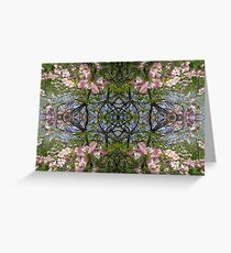 Kaleidoscope - Tree Series Blossom Greeting Card